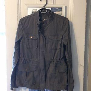 Loft gray utility jacket - NEW